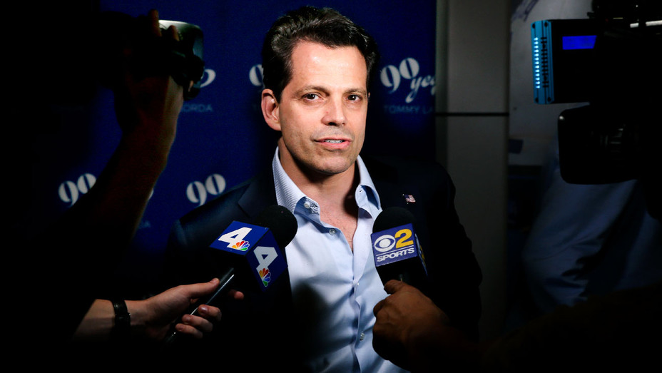 Anthony Scaramucci - 2017 Tommy Lasorda's 90th Birthday Party - Getty - H 2018