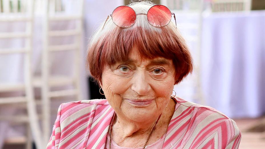 Agnes Varda is seen at La residence de France - Getty - H 2018