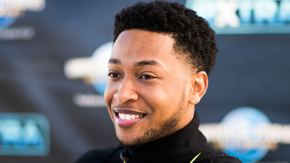 Jacob Latimore - Extra Visit - Getty - H 2018