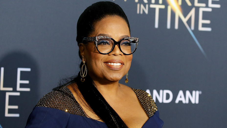 Oprah Winfrey arrives at the Los Angeles premiere of Disney's A Wrinkle In Time - Getty-H 2018
