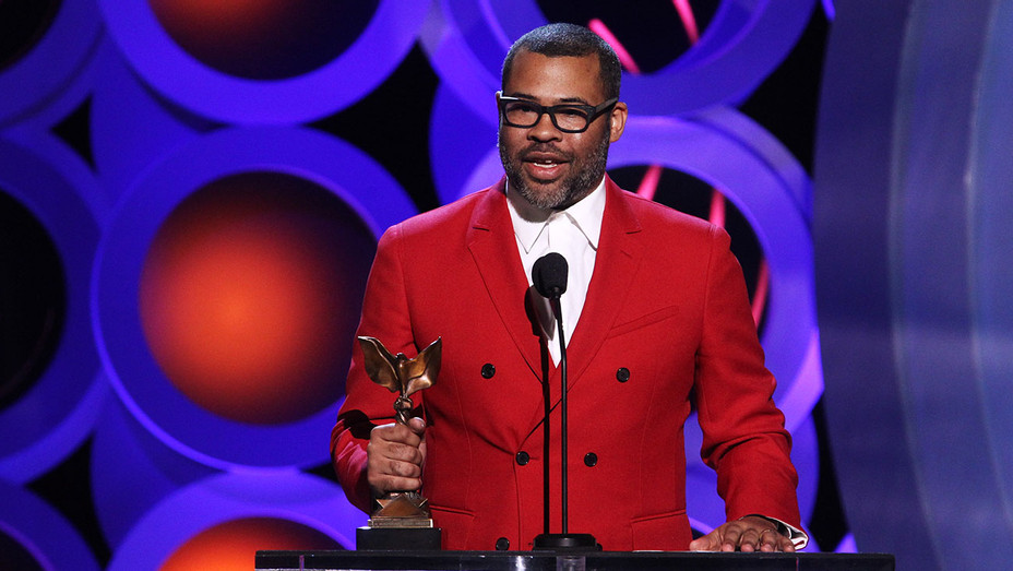 Jordan Peele accepts Best Director for Get Out onstage during the 2018 Film Independent Spirit Awards - Getty-H 2018