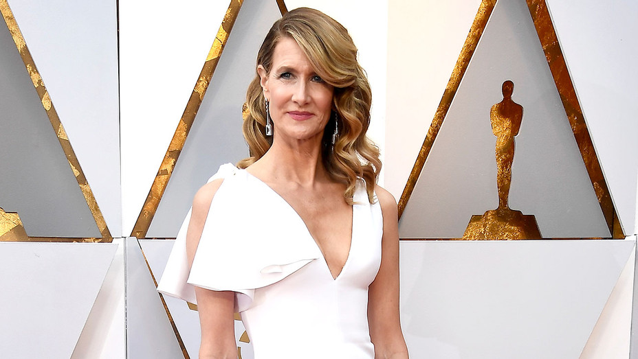 Laura Dern attends the 90th Annual Academy Awards - Getty-H 2018