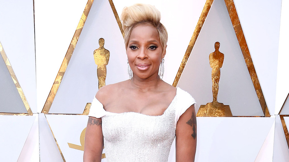 Mary J. Blige attends the 90th Annual Academy Awards - Getty-H 2018