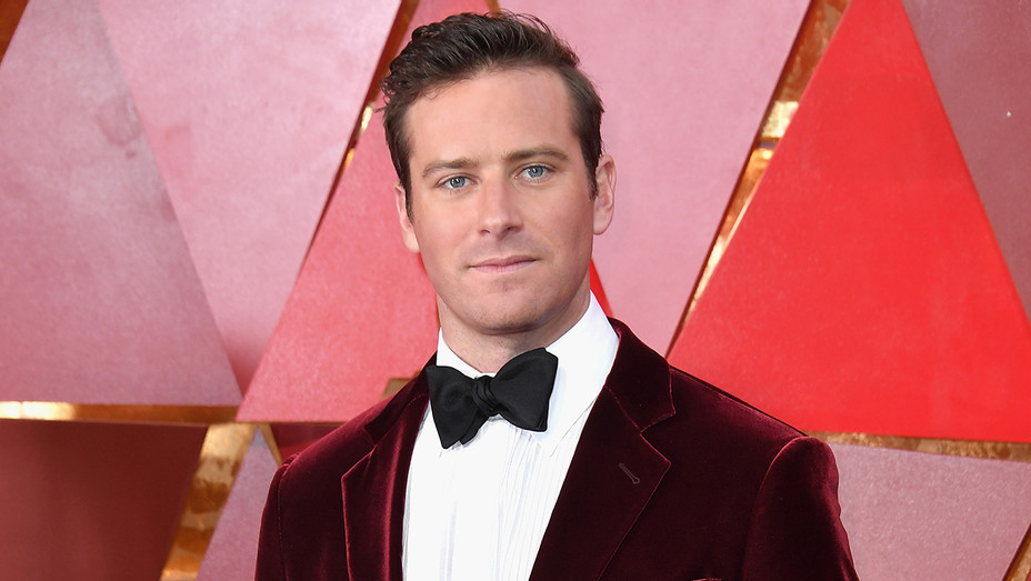 Armie Hammer Redcarpet Academy Awards - Getty - H 2018