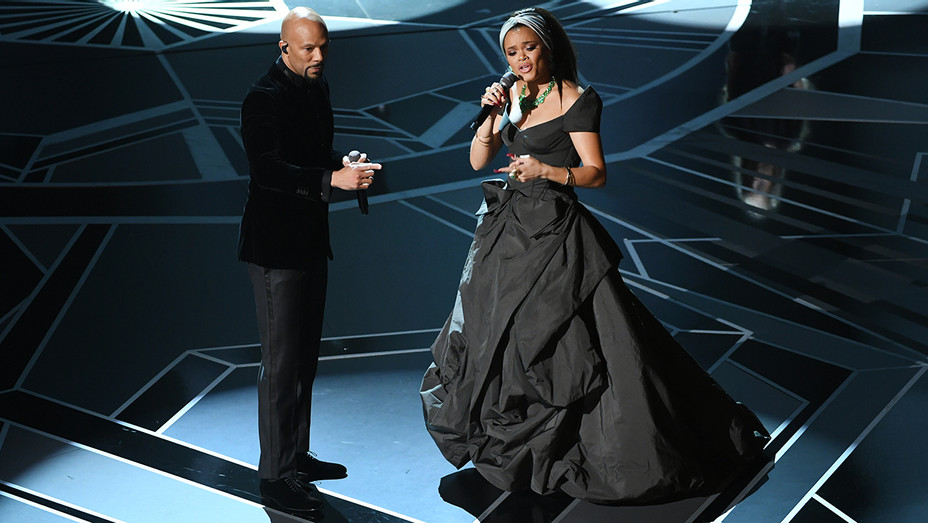 Common Andra Day Onstage Oscars - Getty - H 2018