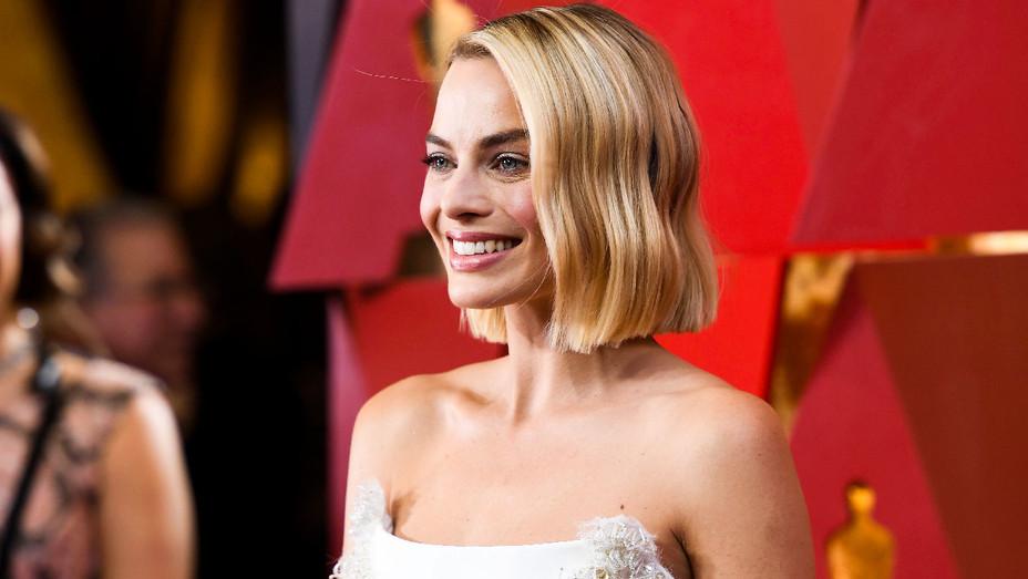 Margot Robbie - Oscars - Getty - H 2018