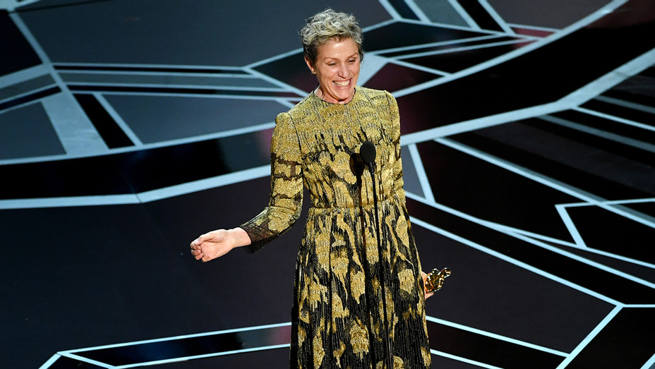 Frances McDormand Best Actress Three Billboards - Getty - H 2018