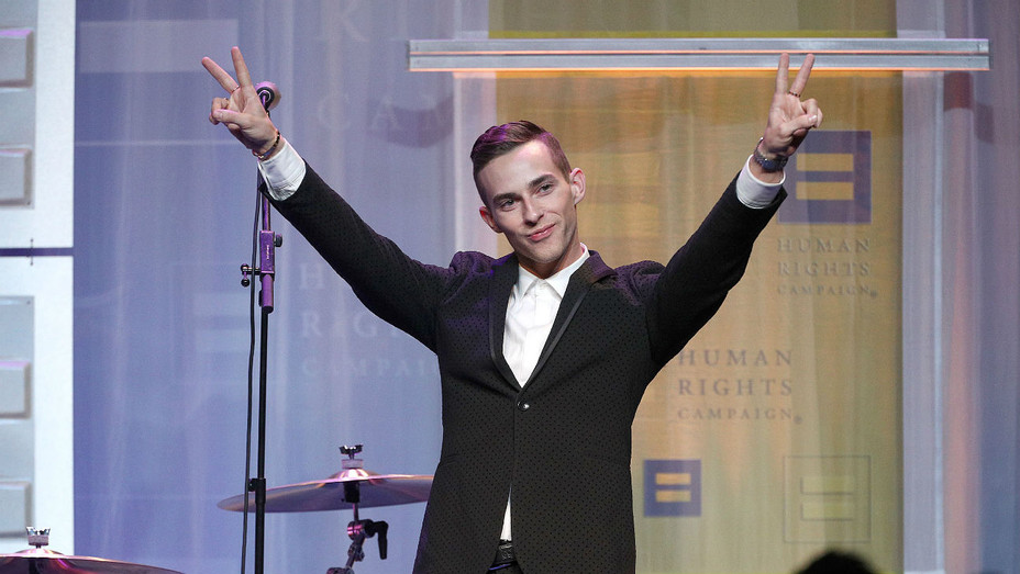 Adam Rippon HRC Gala - Getty - H 2018
