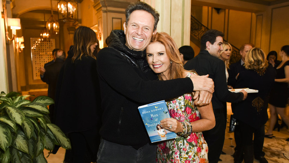 Roma Downey and Mark Burnett - Box of Butterflies Book Party - Getty - H 2018