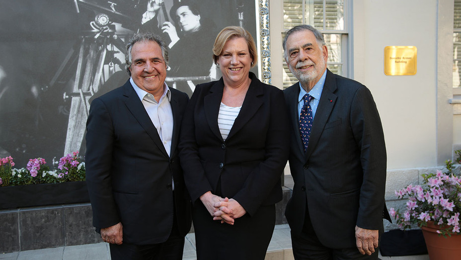 Jim Gianopulos, Andrea Kalas and Francis Ford Coppola - Publicity - H 2018