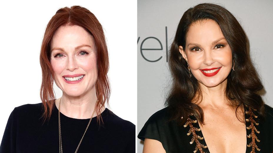 Julianne Moore and Ashley Judd - Getty-Split-H 2018