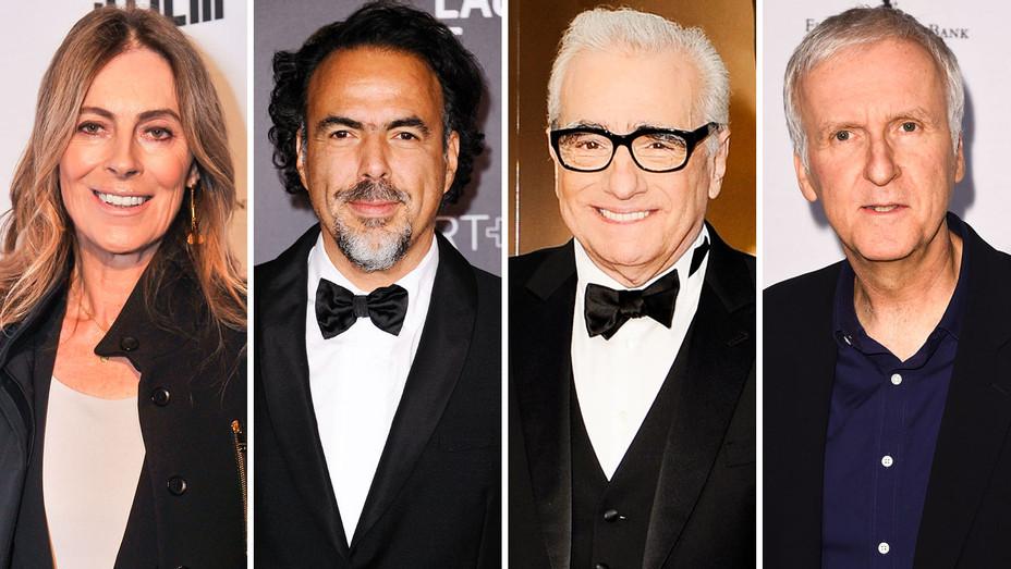 Kathryn Bigelow, Alejandro Inarritu, Martin Scorsese and James Cameron - Split - Getty - H 2018