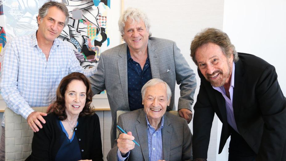Julie Corman, Roger Corman, Bob Emmer, Garson Foos and Richard Foos - Publicity - H 2018
