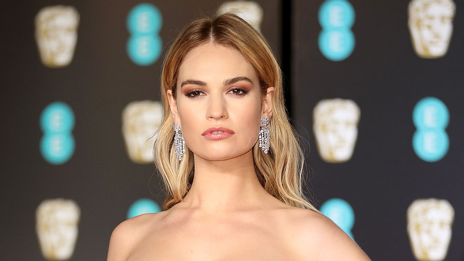 Lily James - Getty - H 2018