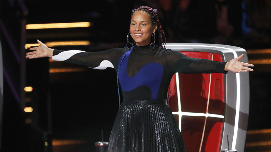 The Voice Blind Auditions Alicia Keys - Publicity - H 2018