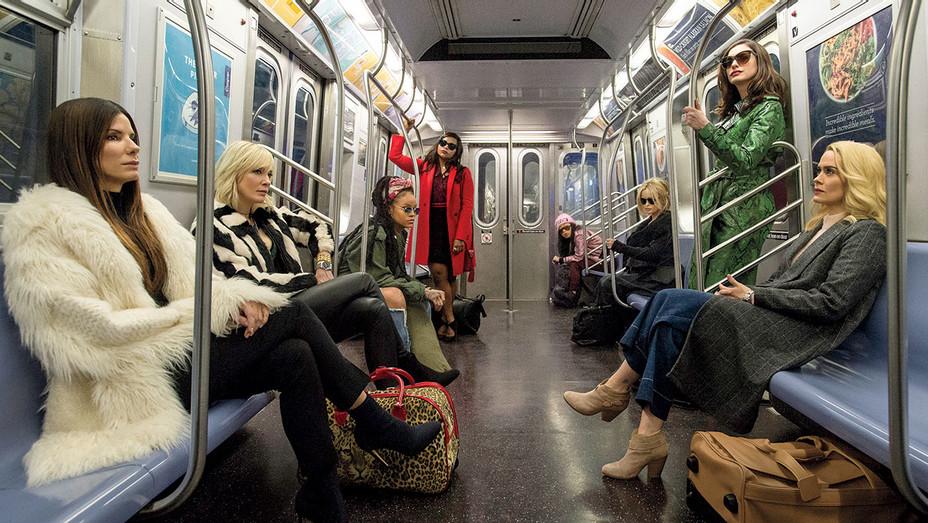 Ocean's 8 Still 1 -Train Group shot -Publicity-H 2018