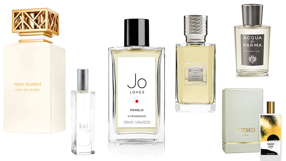 Perfume collage -6 items-Publicity-H 2018