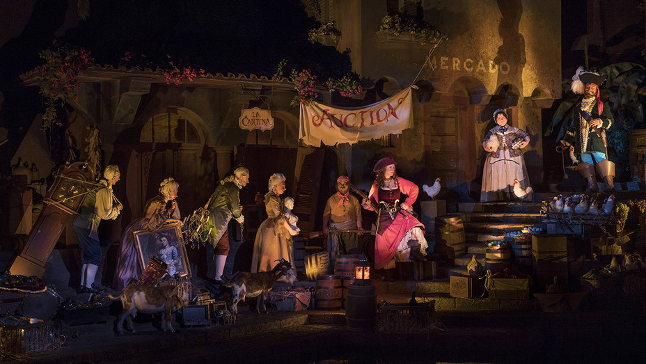 Pirates of the Caribbean Ride_Auction Scene - Publicity - H 2018