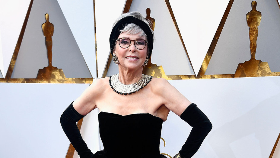 Rita Moreno_Oscars - Getty - H 2018
