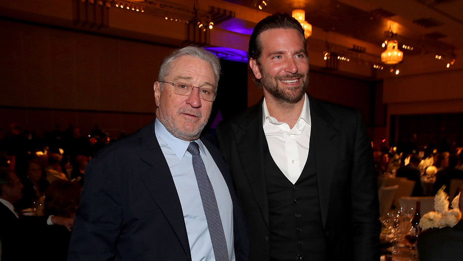 Robert De Niro and Bradley Cooper - Getty - H 2018