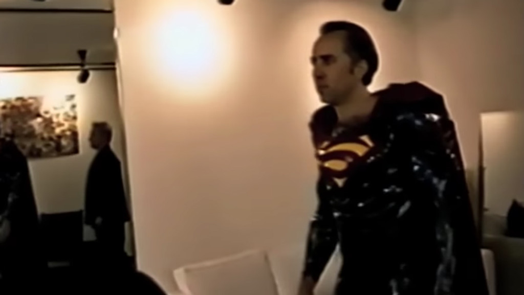 Nicolas Cage Finally Gets to Play Superman | Hollywood Reporter