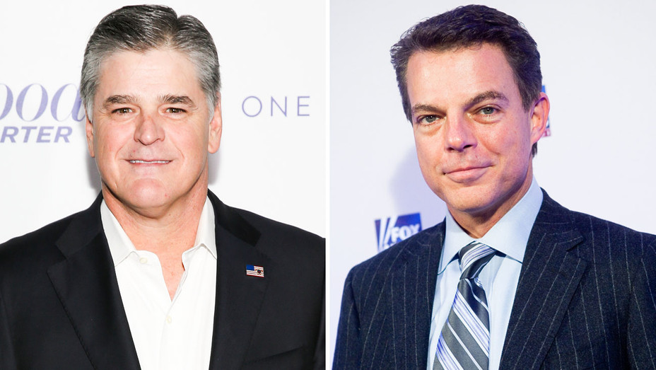 Sean Hannity and Shepard Smith - Split - Getty - H 2018