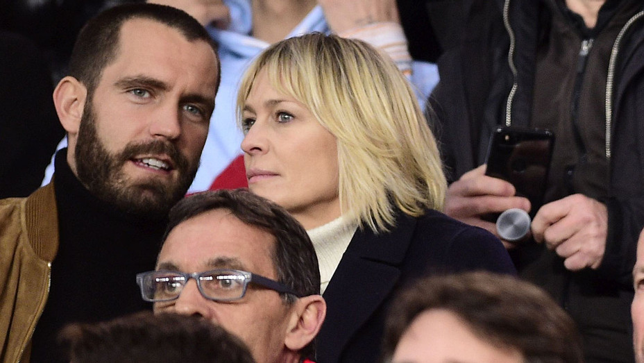 Robin Wright and Clement Giraudet - ONE TIME USE ONLY- NEWSCOM-H 2018