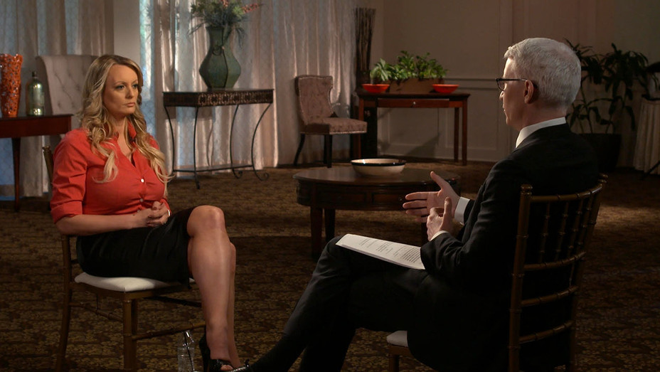 Stormy Daniels 60 Minutes Interview - Publicity - H 2018