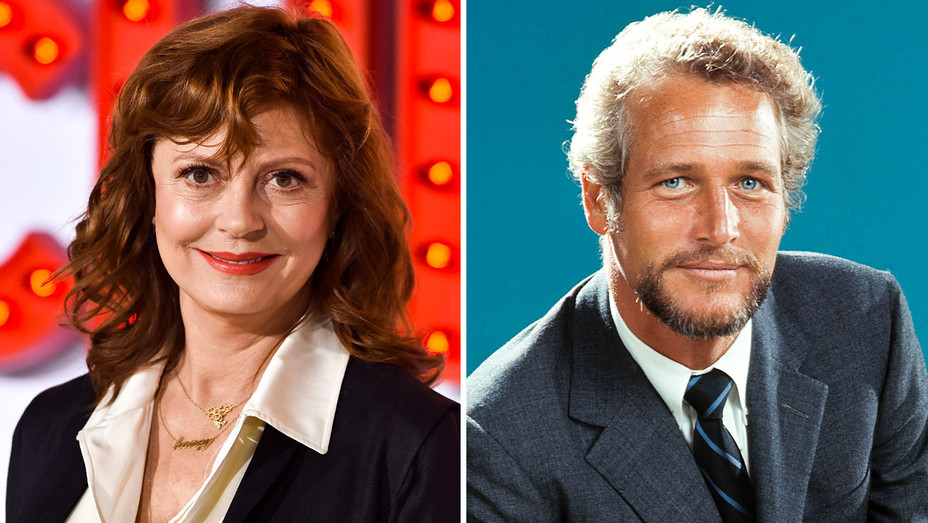 Susan Sarandon and Paul Newman - Split - Getty - H 2018