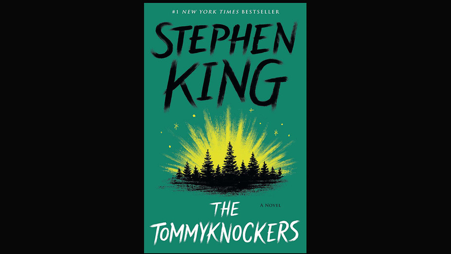 The Tommyknockers BOOK COVER- -Stephen King - Black -Simon & Schuster Publicity Photo-H 2018