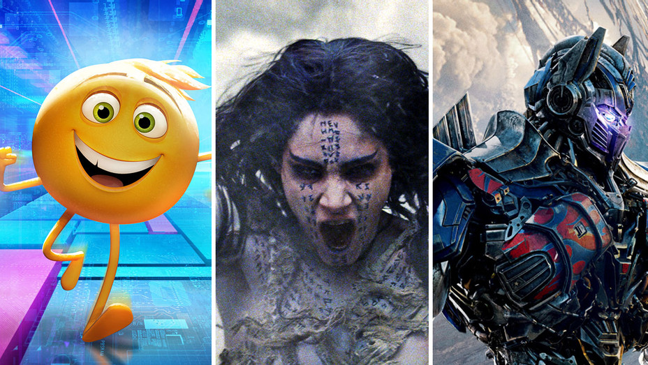The Emoji Movie, The Mummy and Transformers- The Last Knight- Photofest-H 2018