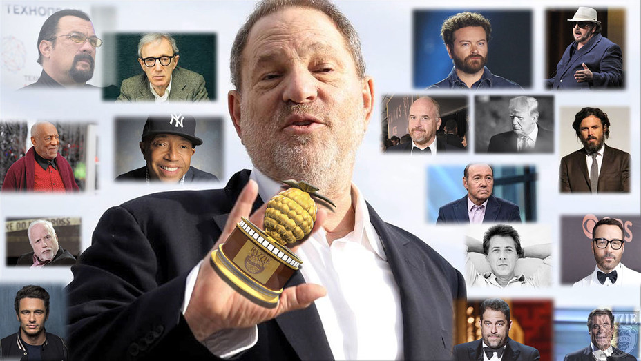 Weinstein Razzie - Publicity - H 2018