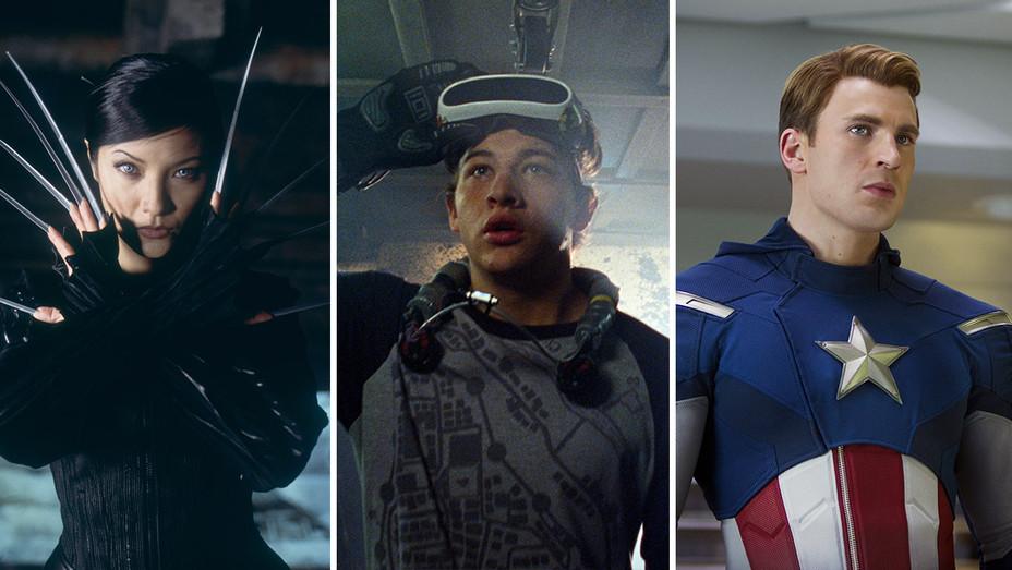X2-X-Men United_Ready Player One_Avengers_Split - Photofest - H 2018