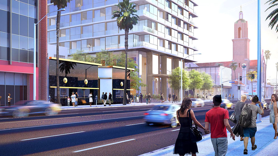 Hollywood Reporter Rendering - Draft Review -Skidmore, Owings & Merrill -Publicity -H 2018