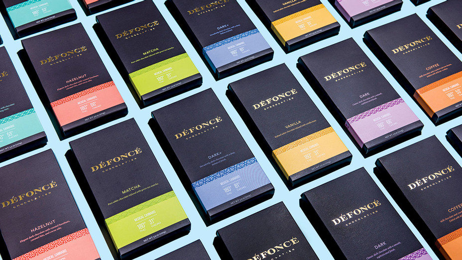 THR's Hollywood Guide to Business-Friendly Dosing - Defonce Chocolatier bars - Publicity-H 2018
