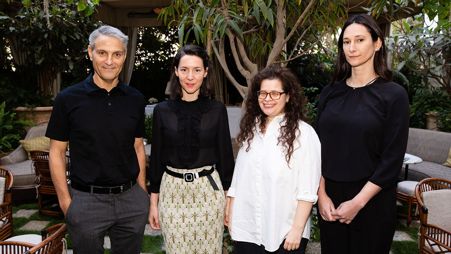 From left: Ari Emanuel, Victoria Siddall, Amanda Sharp, Bettina Korek