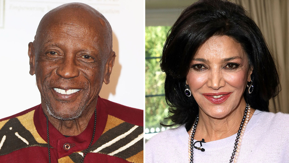 Louis Gossett Jr. and Shohreh Aghdashloo -Split- Getty-H 2018