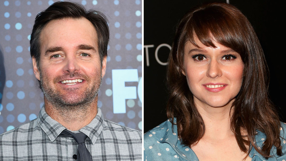 Will Forte and Claudia O'Doherty - Split - Getty - H 2018