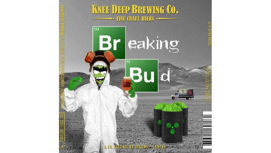 Knee Deep Brewing Breaking Bad Art - Publicity - H 2018