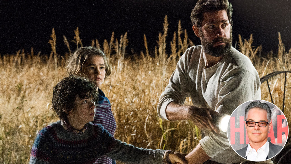 A Quiet Place Still and Marco Beltrami - Inset - Getty - H 2018