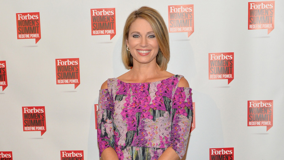 Amy Robach in 2016 - H Getty 2018