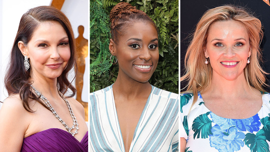Ashley Judd, Issa Rae, Reese Witherspoon_Split - Getty - H 2018