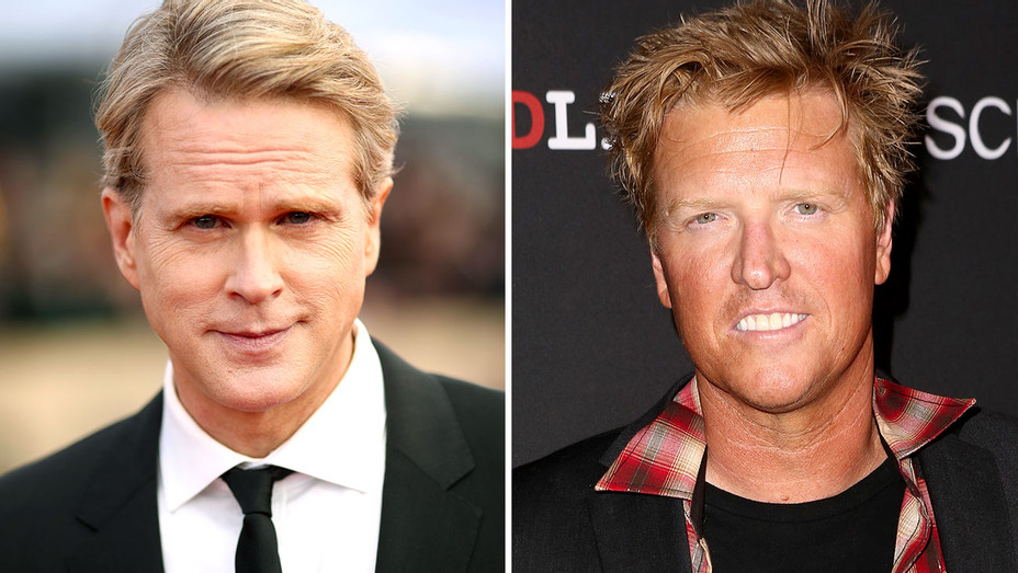 Cary Elwes and Jake Busey Split-Getty-H 2018