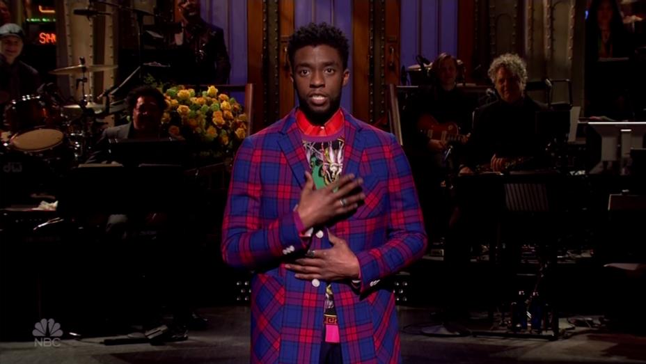 Chadwick Boseman SNL 1 - Screenshot - H 2018