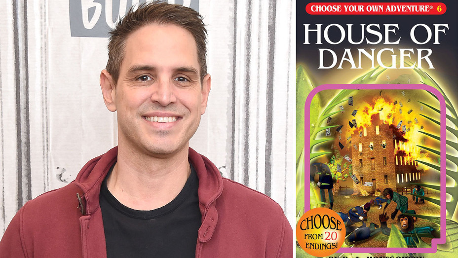 Choose Your Own Adventure Book Cover and Greg Berlanti - Split - Getty - H 2018