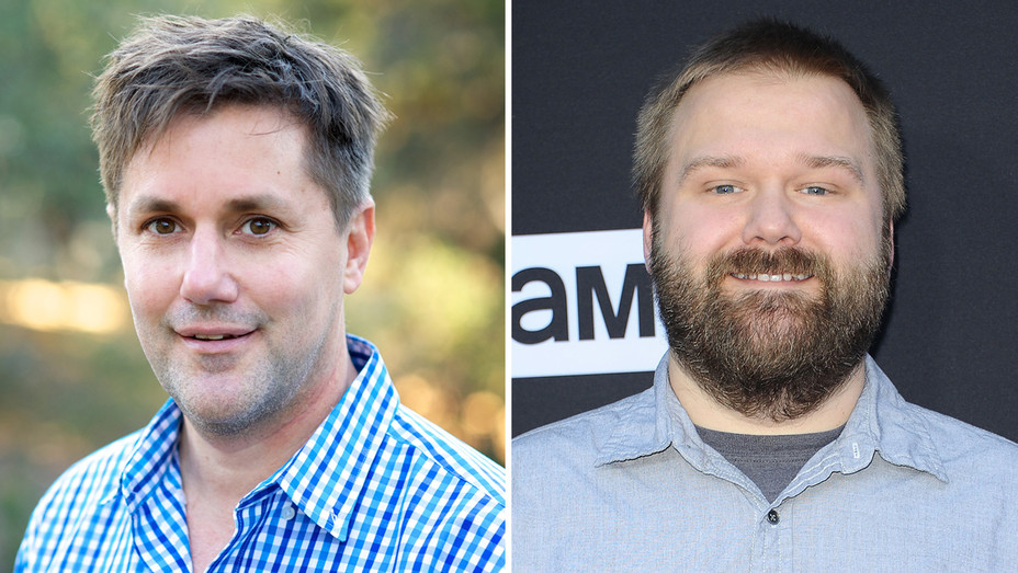 Chris Ryall Robert Kirkman - Getty - H Split 2018