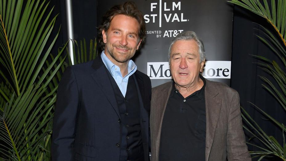 Bradley Cooper and Robert De Niro at the Tribeca Film Festival - H Getty 2018