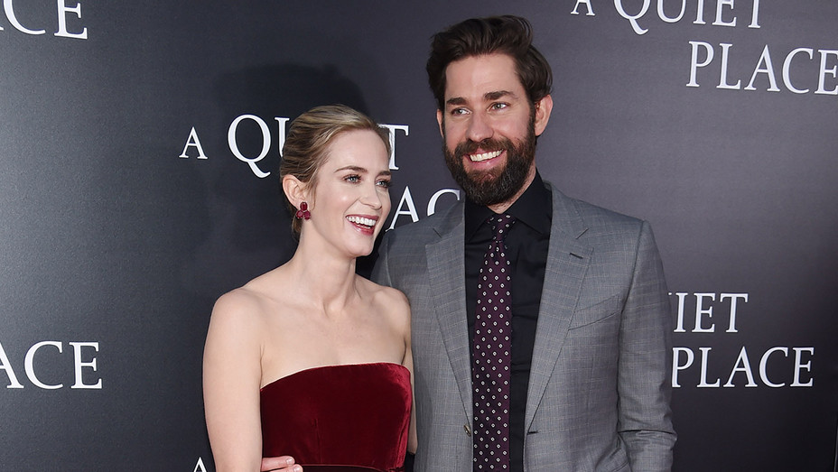 Emily Blunt_John Krasinski_The Quiet Place Premiere - Getty - H 2018