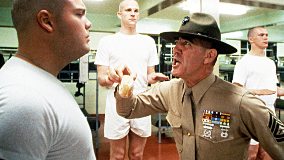 Full Metal Jacket 1987 - Vincent D'Onofrio and R. Lee Ermey - H Photofest 2018