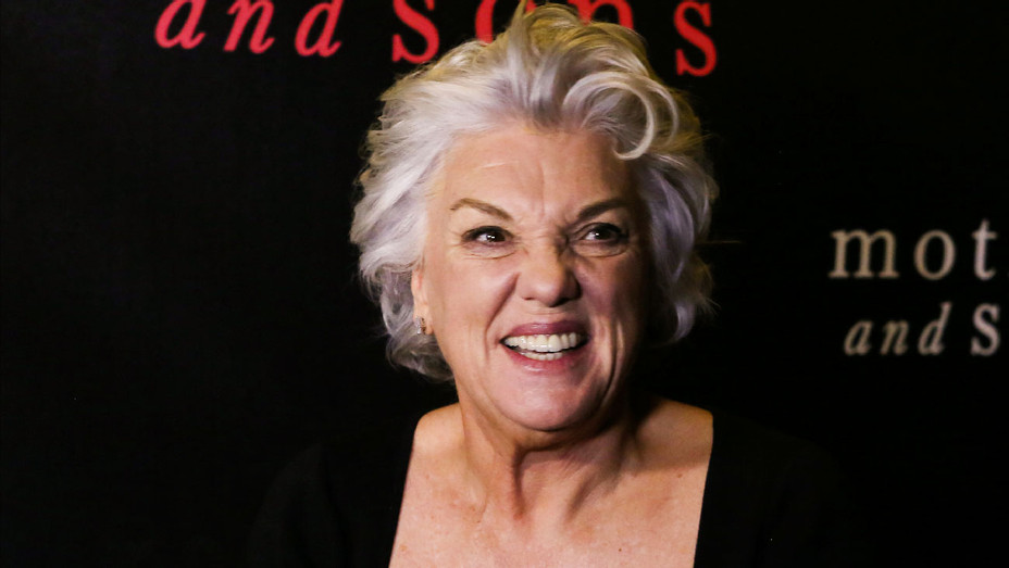 Tyne Daly - 2014 Mother and Sons Broadway Opening Night - Getty - H 2018
